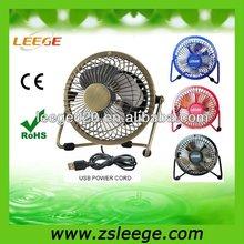 FF0402 electric plastic mini usb power fan