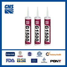 Hot selling haohong hh-8000 one component acetic general purpose acid silicone sealant with low price