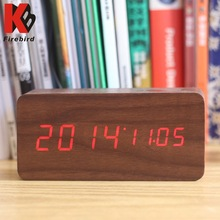 Wholesale led digital usb power supply clock azan time for old people