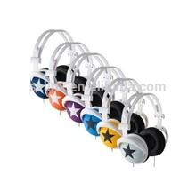 2015 Best stylish folding big ear custom retro color headphones