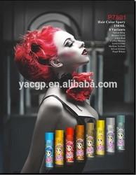 Beautiful color hair spray wholesale instant temporary hair dye spray HOT SELL