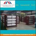 hogar papel de aluminio para el embalaje de la barbacoa de aleación de aluminio suave 8011 temperamento o cero