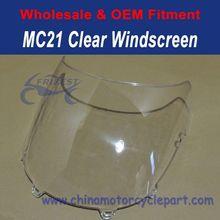 For Honda MC21 Clear Motorcycle Windscreen