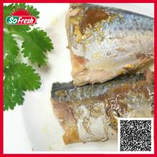 geisha mackerel fish in tomato sauce canned tin fish