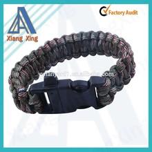 paracord bracelet,550 paracord wristband,woven paracord bracelet