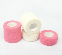 Colorful Disposable Latex Free Flexible Cohesive Cotton Medical Bandage