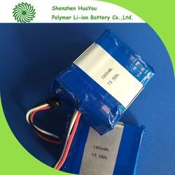3S1P 11.1V 1800mAh battery