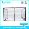 low price low MOQS metal large dog kennel/dog crate/pet pen