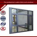 por encargo de swing out ventana abatible para el estándar de tamaño de las ventanas de aluminio