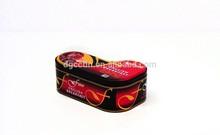 Fast delivery of high-quality sock shape tea tin box/tea box/tea canisters wholesaletin tea box/tea packaging