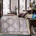 أحدث تصميم جميلة الجاكار الكروشيه تشجيانغ الكبار أغطية السرير