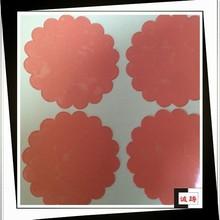 Very high bonding acrylic adhesive custom pet double sided sheet
