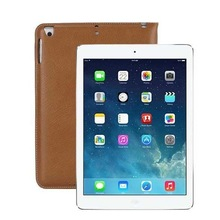luxury ultra thin kickstand for ipad air 2 leather case