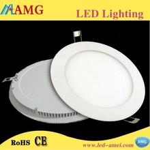 2015 New Hot Sale AC85-265V 18W Round LED Panel Light Super Bright Lightness Slim Led Light Panel
