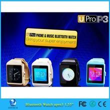 U Pro3 GSM 1.55' Full Touch Screen smart watch phone waterproof intelligent watch