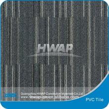 Energy save PVC indoor use vinyl tile / plastic tile