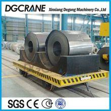 Metal Industry Steel Beam Handling Wagon With Cast Steel Wheel