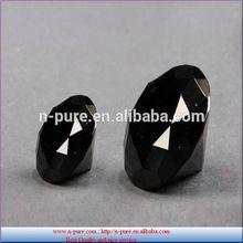 Fashionable Decorative Gift 80mm 100mm black Crystal Diamond