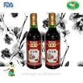 Chino fermentado vinagre 500 ml botella de ajo con sabor