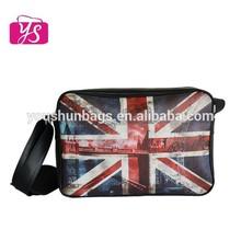 Top quality leather messenger bag pu shoulder bag