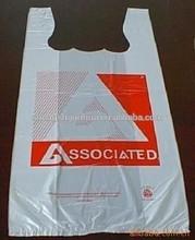 Tshirt printed plastic bags wholesale
