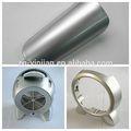 طلاء الفضة مصنع المواد الخام أفضل سعر الالومنيوم المعكرونة