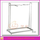 clothes rack shop fittings/mdf wall floating shelf/clothing boutiques