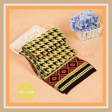 Jacquard Knitted Magic Wool Shawl