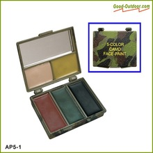 Multi-Color Camouflage Non-toxic Face Painting