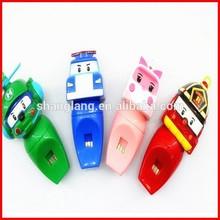 Transformation Robocar Poli Robot Car Whistle Toys for Kids Whistling South Korea Thomas Classic Cartoon Whistle Toy