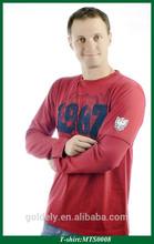 Mens wholesale single jersey white plain cheap promotion t shirt