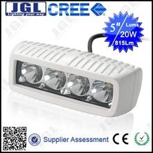 JGL IP 67 Led Lamp 20W Led Work Light For Cars White Housing Light Cree PEDAL BOAT 20W WORK LIGHTS