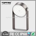 No parpadeante alta calidad IP68 patente recargable 120 días tiempo reserva menos 40 grados trabajadas lámpara led libro