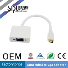SIPU Professional high quality mini vga to hdmi converter box