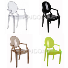 China replica louis ghost chair white wedding chair