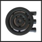 Three ring Cast iron gas hob parts gas burner