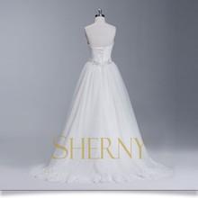 Sherny Bridals Custom Antique See Through Wedding Dresses