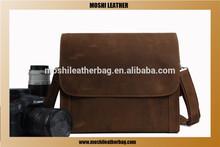 Vintage Handmade Genuine Leather Camera Bag / DSLR Case