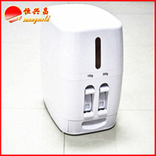 2015 new style Chinese plastic rice dispenser for export