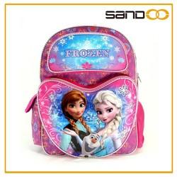 Sandoo china supplier frozen designed little girl school bag, scool bag