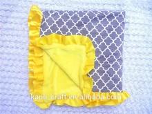 Wholesale soft baby blanket wool blanket for kids