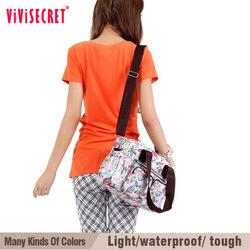 vivisecret polyester women shoulder bags in parachute