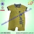 nouvelle arrivée à manches courtes barboteuses pour bébés de haute qualité en gros de vêtements pour bébés en chine fournisseur