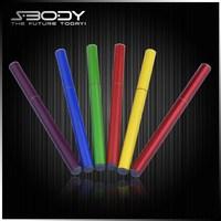 Top Long lasting e cigarette pen vaporizer Disposable electronic cigarette mini ehookah with colorful sticker