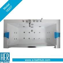 Hydropathic Bathtub, Top Grade Massage Bath tub, Big Glass Massage Bathtub 1820