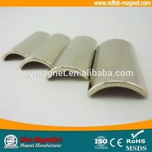 Permanent Arc Segment Neodymium Magnet Permanent Magnet For Motor