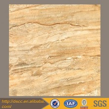 Italy style of brown culture slate tile polished faux marble floor tiles with shell design
