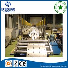 Heavy duty steel framework storage rack roll forming machine