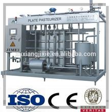 milk pasteurizer used