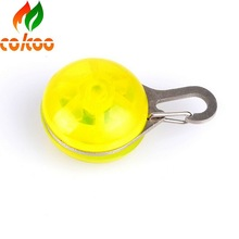 Glowing sale led pet toy on top selling dog collar pet toy ball